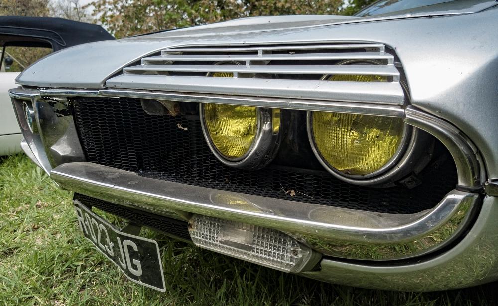 Alfa Romeo Montreal détail - Belles autos, bons amis et bonne musique le 1er mai à Cassel