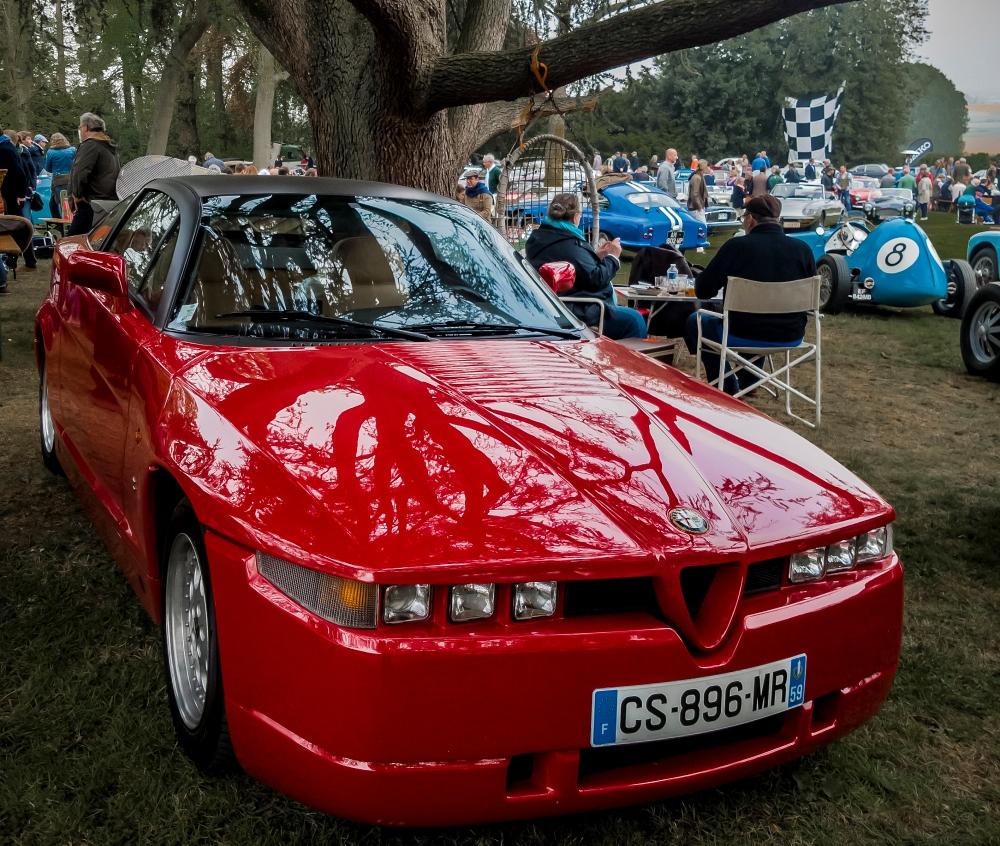 Alfa Romeo SZ par Zagato - Belles autos, bons amis et bonne musique le 1er mai à Cassel