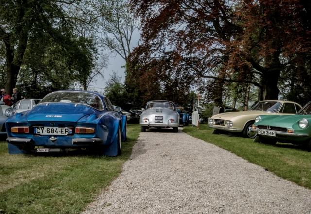 Alpine A110, Porsche 356 et OSCA - Belles autos, bons amis et bonne musique le 1er mai à Cassel