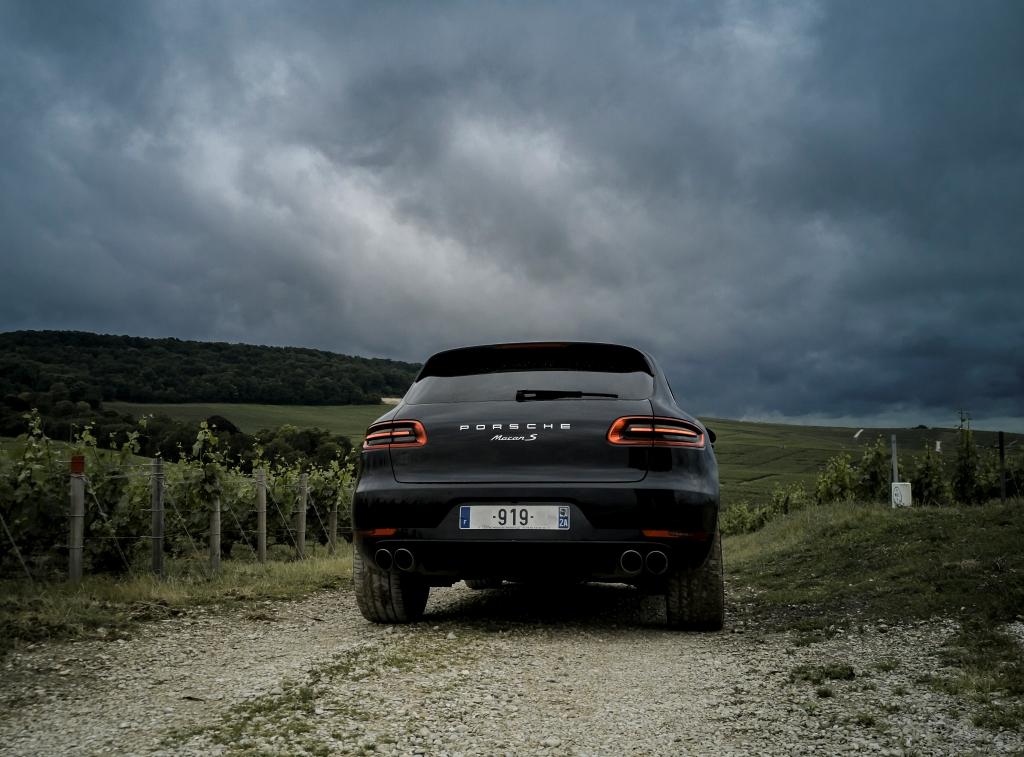 Arrière Porsche Macan S