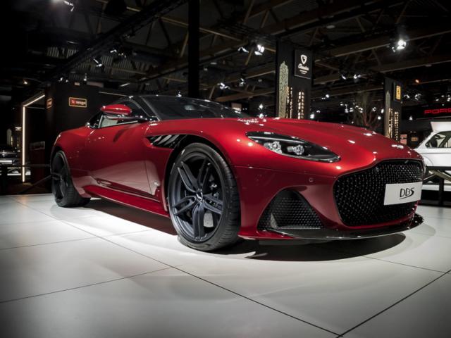 Le blason Superleggera renaît chez Aston Martin
