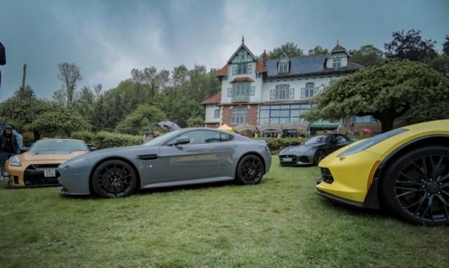 Aston Martin Vantage S, Nissan GTR Liberty Walk, Jaguar F-Type et Corvette
