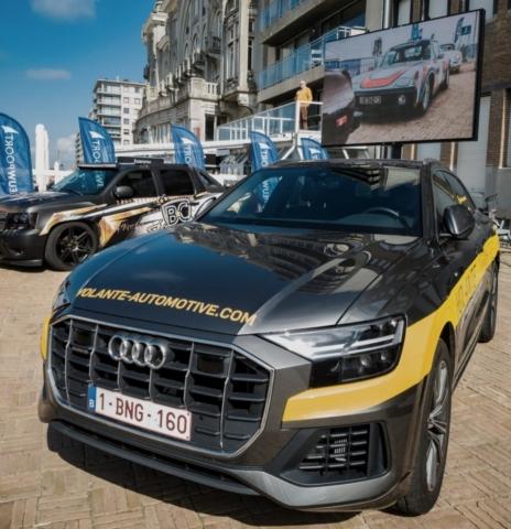 Audi Q8, Volante Automotive officiel
