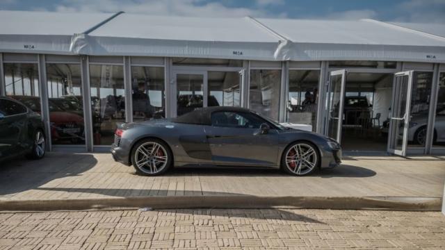 Audi R8 spyder profil