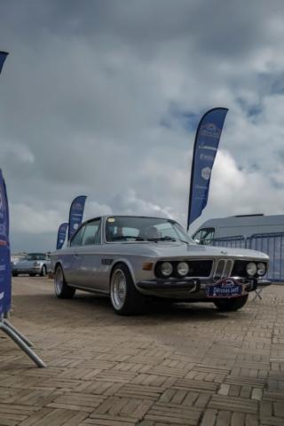 BMW CSI départ rallye