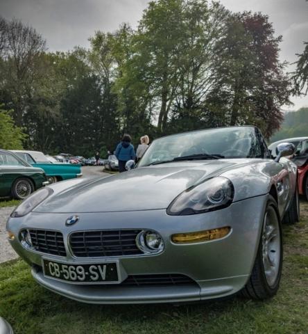 BMW Z8 face avant - Belles autos, bons amis et bonne musique le 1er mai à Cassel