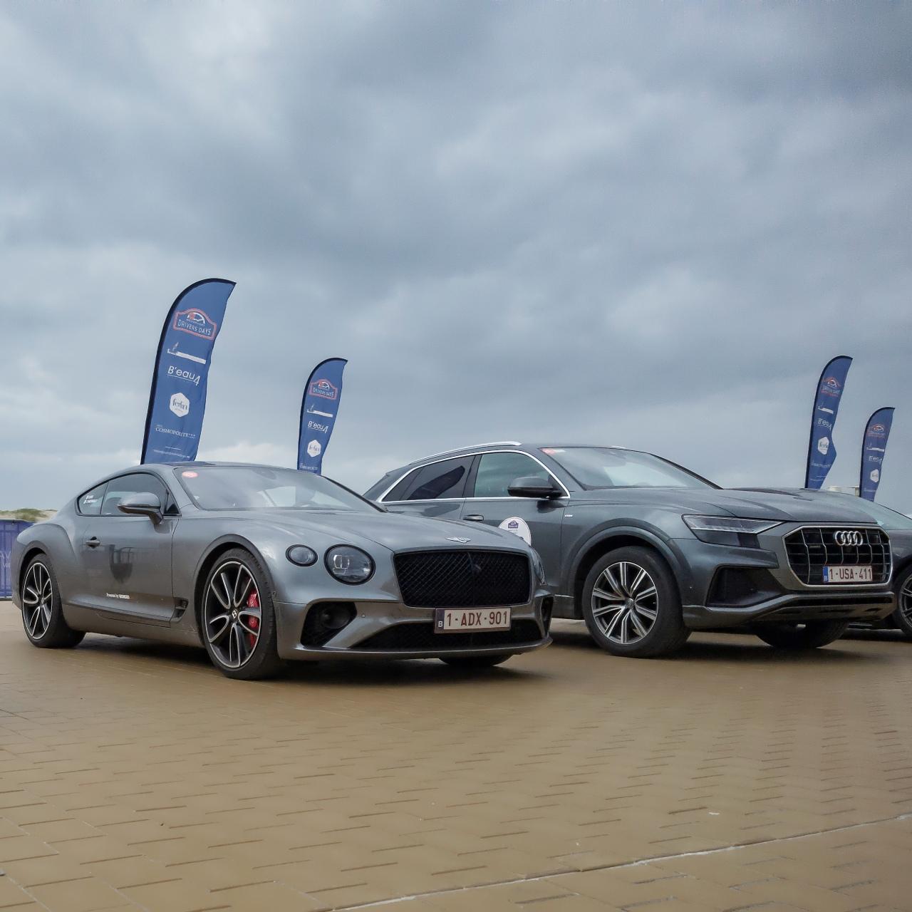 Bentley Continental GT et Audi Q8