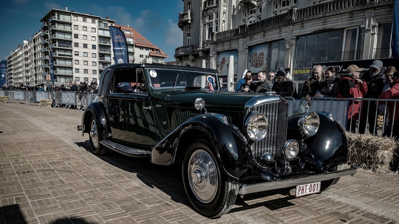 Bentley primée au concours élégance