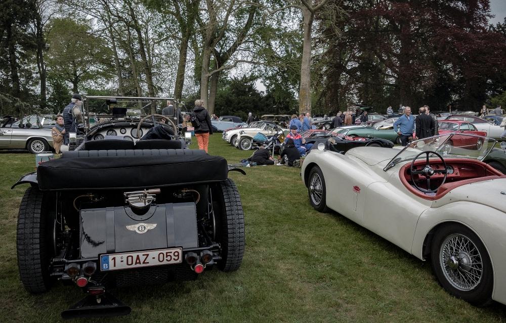 Bentley et Jaguar XK120 - Belles autos, bons amis et bonne musique le 1er mai à Cassel