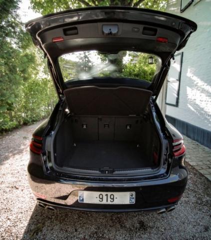 Coffre du Porsche Macan S