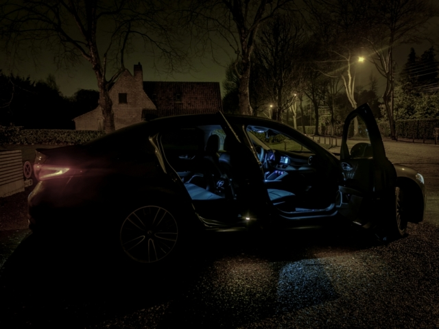 Night call - Alfa Romeo Giulia, dame de coeur