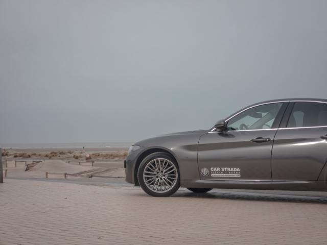 Coquillage et Giulia- Alfa Romeo Giulia, dame de coeur