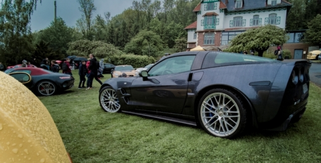 Corvette ZR1, V8 compresseur de 647 chevaux