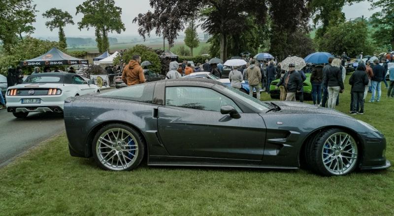 Corvette ZR1 et Ford Mustang