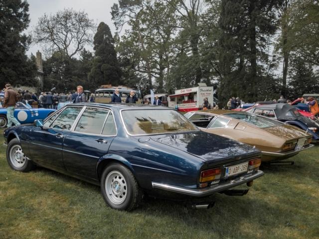 De Tomaso Deauville et Maserati Ghibli - Belles autos, bons amis et bonne musique le 1er mai à Cassel
