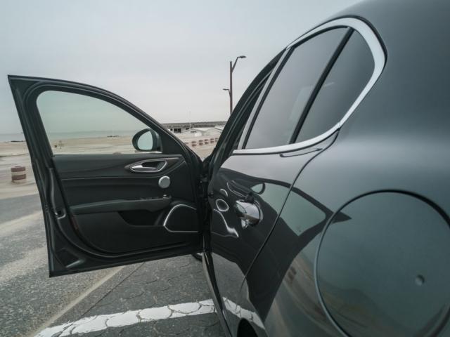 Elle m'attend - Alfa Romeo Giulia, dame de coeur