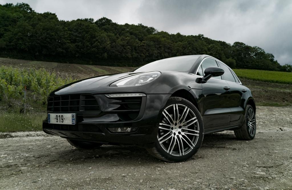 Porsche Macan S sous son plus bel angle