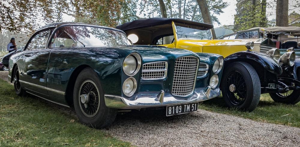 Facel Vega II et Rolls Royce - Belles autos, bons amis et bonne musique le 1er mai à Cassel