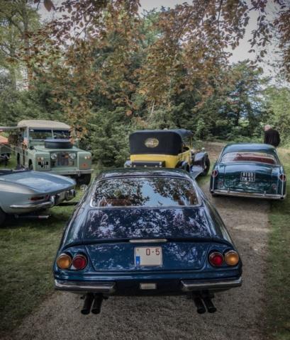 Ferrari 365GTB4 arrière - Belles autos, bons amis et bonne musique le 1er mai à Cassel