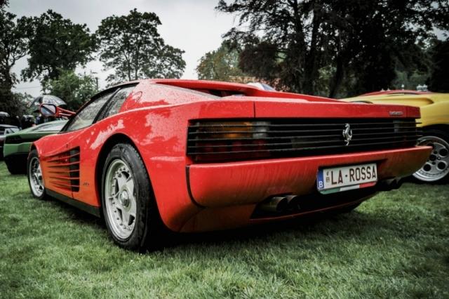 Ferrari La Rossa, rouge