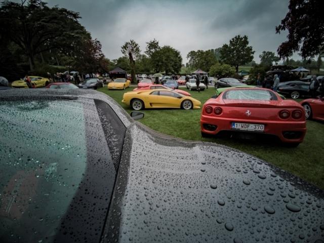 Ferrari Modena et Lamborghini Diablo