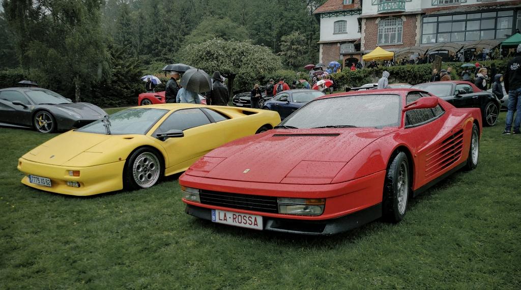 Ferrari Testarossa et Lambroghini Diablo