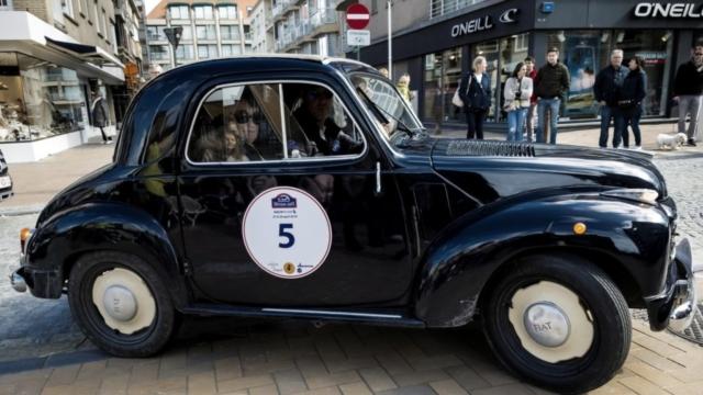 Fiat à l'arrivée