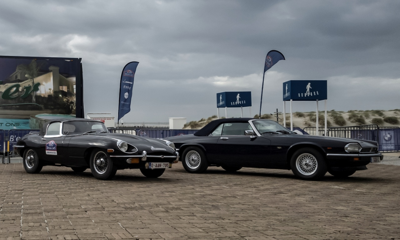 Jaguar Type E et XJ-S cabriolet