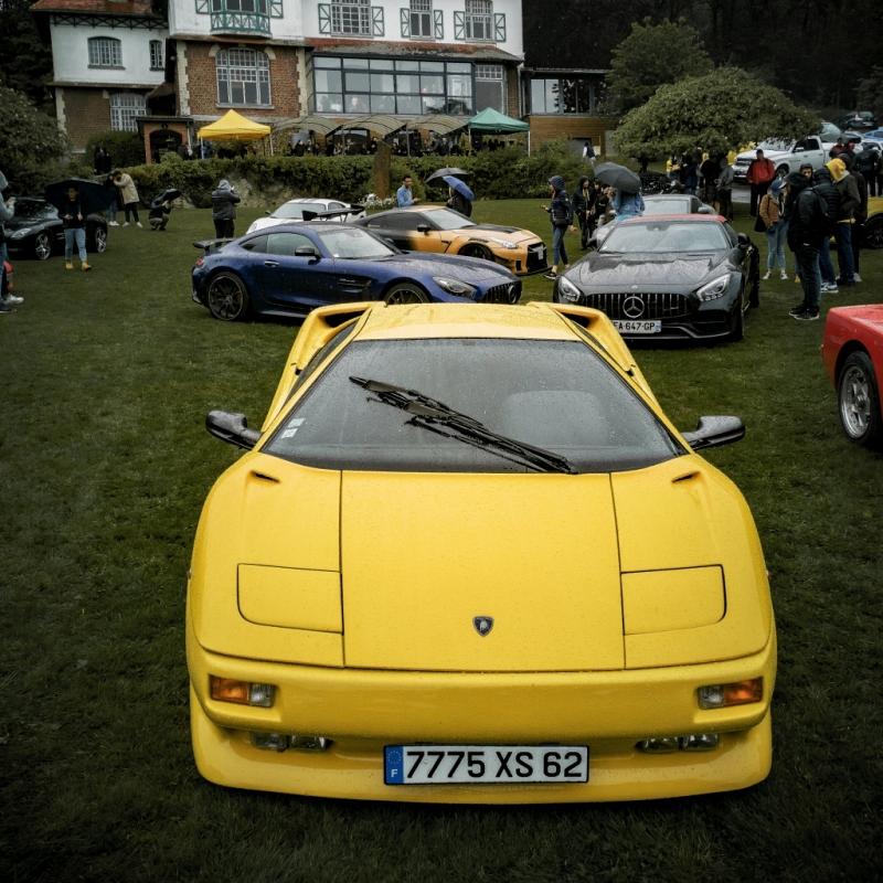 Lamborghini Diablo, chef de meute