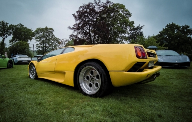 Lamborghini Diablo sous son plus bel angle?