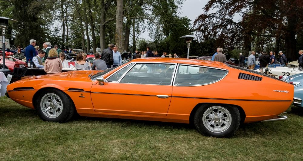 Lamborghini Espada - le 1er mai à Cassel, rendez-vous amoureux