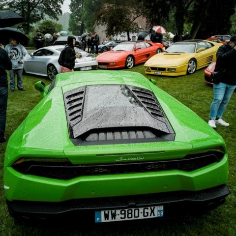 Lamborghini Huracan et Ferrari, face-à-face italien