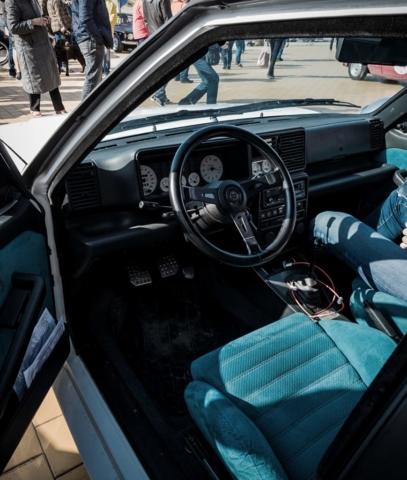 Lancia Delta Integrale et son intérieur années 1980/1990