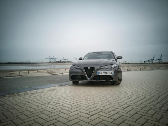 L'appel du Coeur Sportif Alfa- Alfa Romeo Giulia, dame de coeur