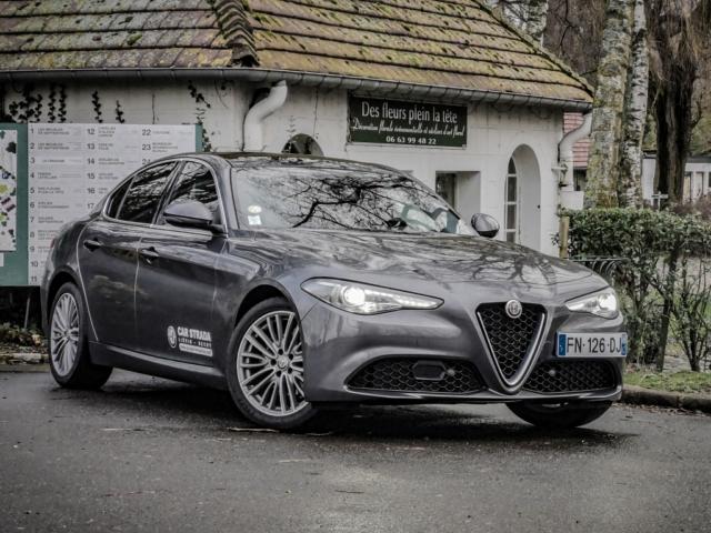 Le biscione plein la tête- Alfa Romeo Giulia, dame de coeur