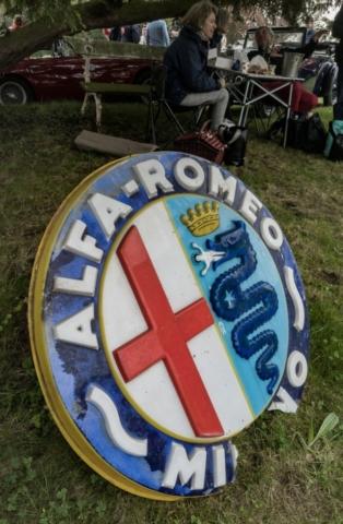 Logo Alfa Romeo - Belles autos, bons amis et bonne musique le 1er mai à Cassel