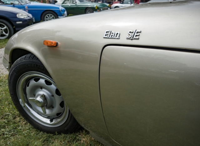 Lotus Elan SE, détail - Belles autos, bons amis et bonne musique le 1er mai à Cassel