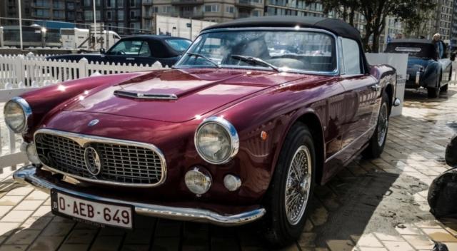Maserati 3500 Spyder Vignale, concours d'élégance