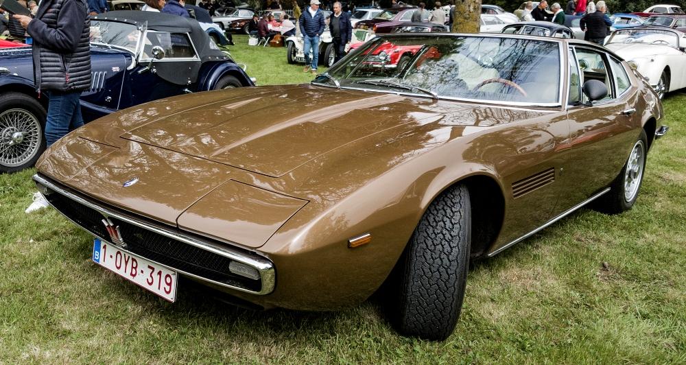 Maserati Ghibli - Belles autos, bons amis et bonne musique le 1er mai à Cassel