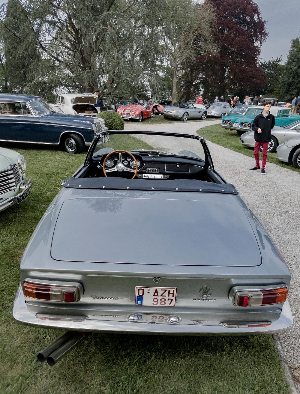 Maserati Mistral Spyder - Belles autos, bons amis et bonne musique le 1er mai à Cassel