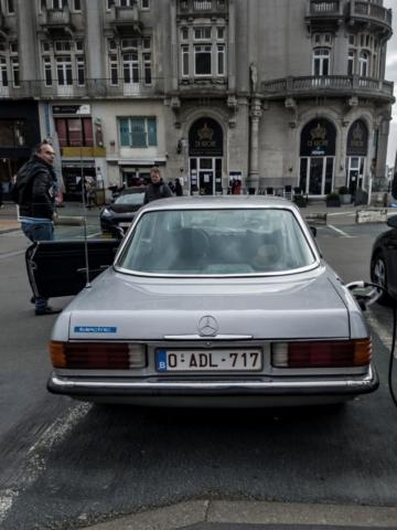Mercedes SLC électrique