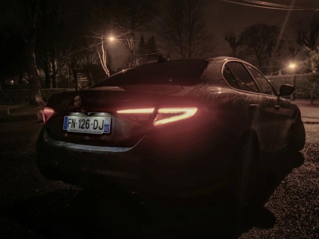 Effet boomerang - Alfa Romeo Giulia, dame de coeur