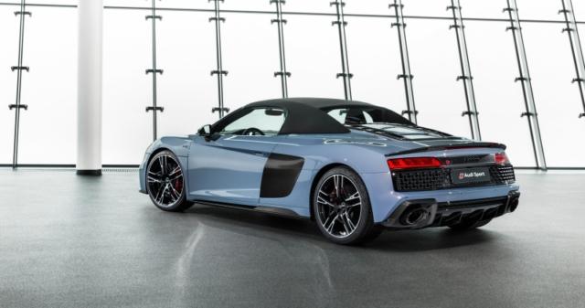 L'Audi R8 V10 Performance Quattro est décliné en spyder