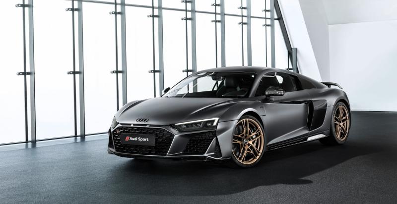 Voici l'Audi R8 V10 Decennium, une série spéciale de 222 exemplaires à 222 000 euros...