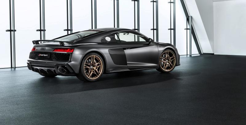 Voici l'Audi R8 V10 Decennium, un hommage au V10