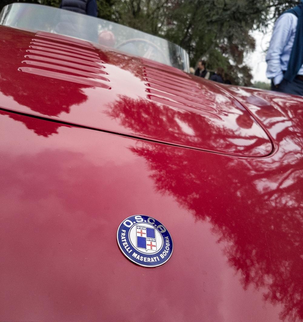 OSCA des frères Maserati - Belles autos, bons amis et bonne musique le 1er mai à Cassel