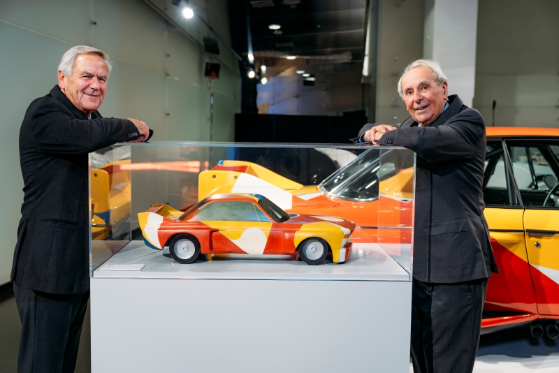 Les BMW Art Car, c'est eux :  Jochen Neerpasch, ancien patron de BMW Motorsport et Hervé Poulain.