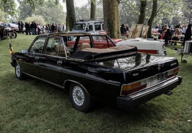Peugeot 604 Landaulet Henri Chapron - Belles autos, bons amis et bonne musique le 1er mai à Cassel