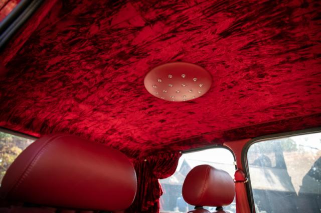 Plafond intérieur, disco - Mini Rover Sport 2000 Jay Kay - Jamiroquai
