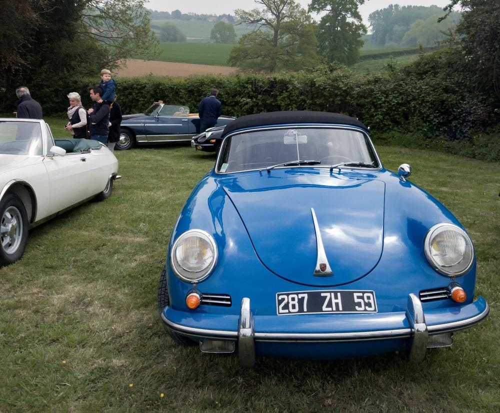 Porsche 356 - Belles autos, bons amis et bonne musique le 1er mai à Cassel